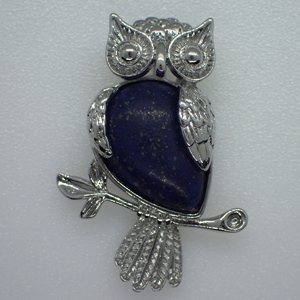 Owl on Branch Pendants
