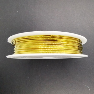 0.6mm Copper Wire-Gold