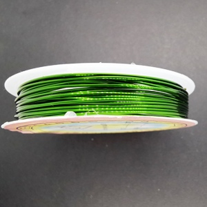 0.8mm Copper Wire-Green