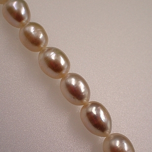 Freshwater White Rice Pearls 10x8mm