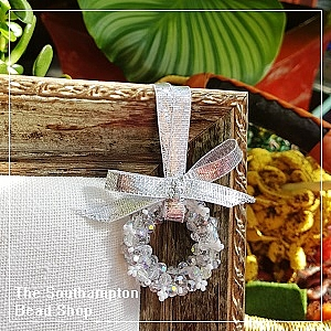 Project Kit - 3008 Christmas Wreath (Crystal AB & Silver)