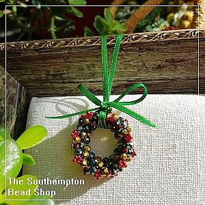 Project Kit - 3008 Christmas Wreath (M/Gold & M/Green)