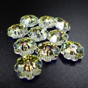 10mm Swarovski 3700 Margarita Crystal AB