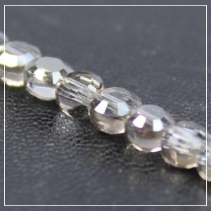 Chinese 4mm Coin Crystals - Black Diamond Moonlight