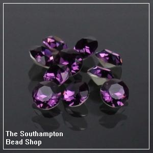 8mm Chinese Chaton-Amethyst