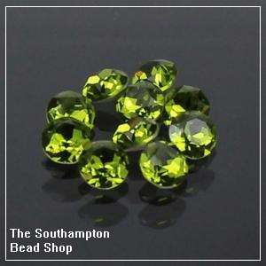 8mm Chinese Chaton-Olivine