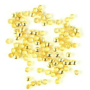 Crimps-Gold Plated (pkt of 200)