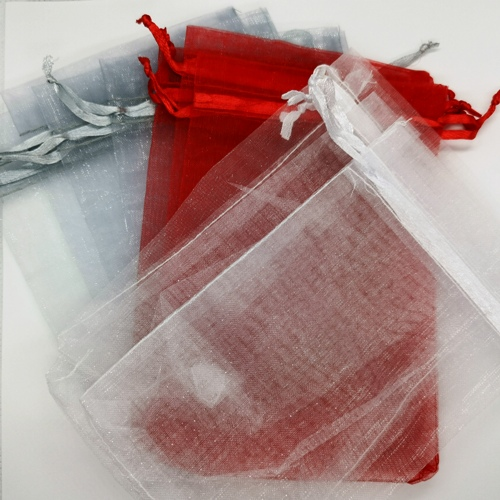 Medium Mixed Organza Bags (15x10cm)