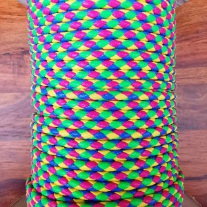 PVC Cord - Fuchsia/Yellow/Green