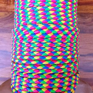 PVC Cord - Hot pink/Yellow/Green/Blue