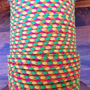 PVC Cord - Hot pink/Yellow/Green/orange
