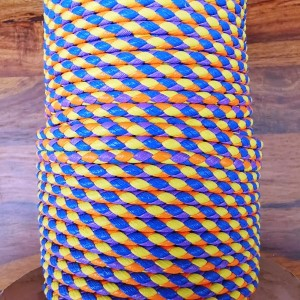 PVC Cord - Orange/Yellow/Blue