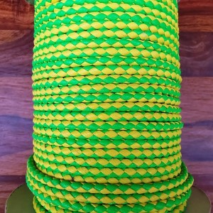 PVC Cord - Yellow/Green