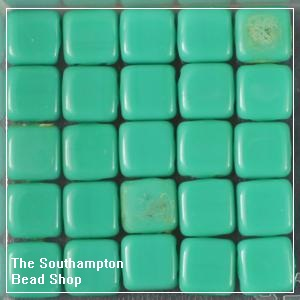 CzechMates Tile Bead 6mm-Persian Turquoise