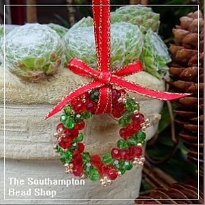 Project Kit - 3008 Christmas Wreath (Red & Green)