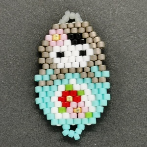 Beaded Ornaments - Russian Doll-1