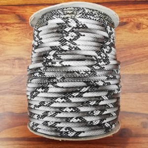Leatherette Cord - Dark Grey