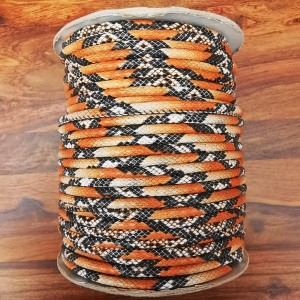 Leatherette Cord - Orange