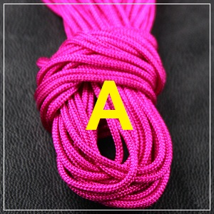 Macrame Cord - 1mm Hot Pink