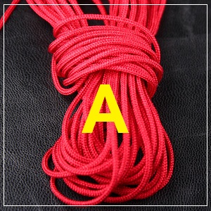 Macrame Cord - 1mm Red