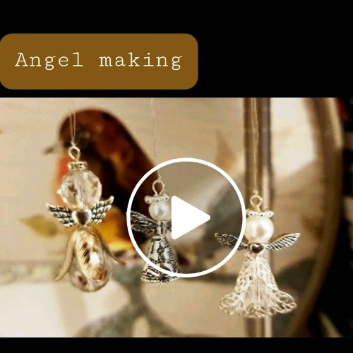 Video of Angel making for jewellery and ornaments