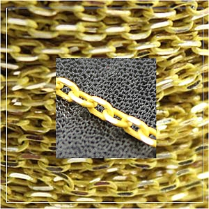 colour chain-lemon (1 metre)