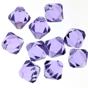 6328 Swarovski Top Drilled Bicone 6mm - Violet