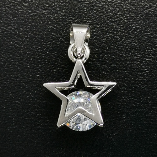 Crystal Rhinestone Pendants - Star
