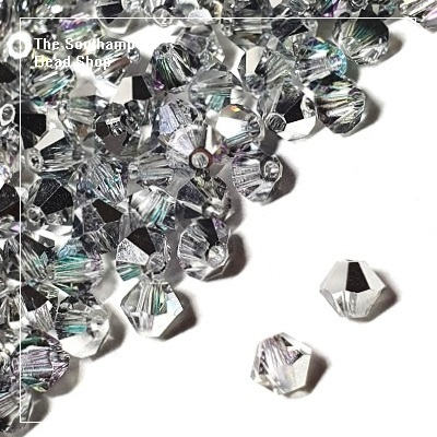 Preciosa Bicones Beads 4mm - Crystal Vitrail Light