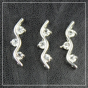 rhinestone spacer bar-1