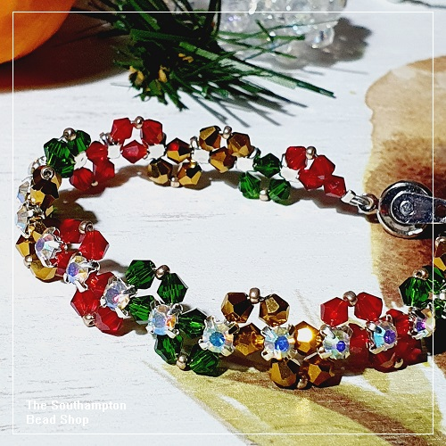 Project Kit - 1014 Festive Zigzag Bracelet